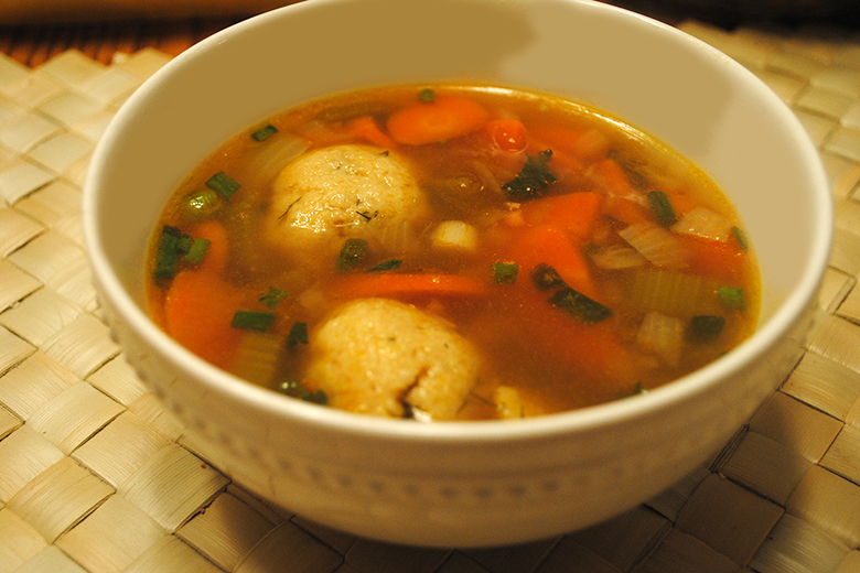 Easy Vegetarian Matzo Ball Soup Recipe Clinic