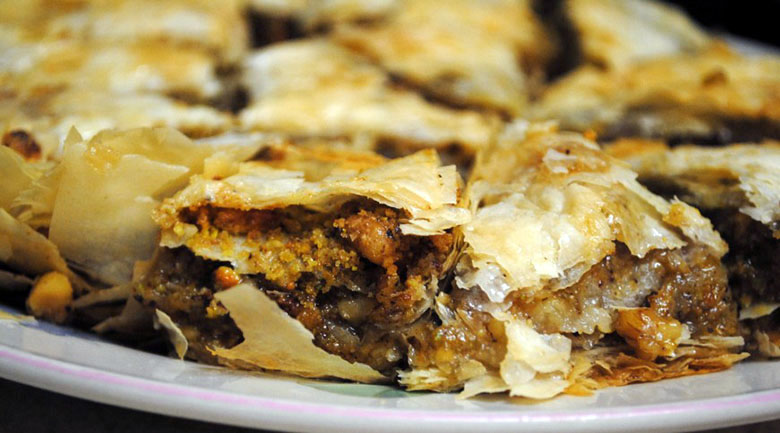 Walnut And Pistachio Baklava Recipes — Dishmaps