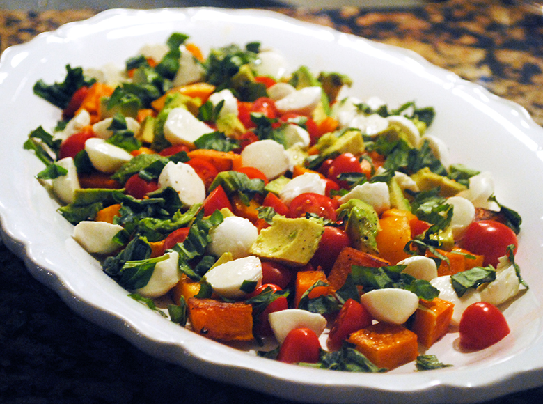 Butternut Squash Caprese - A Graceful Taste