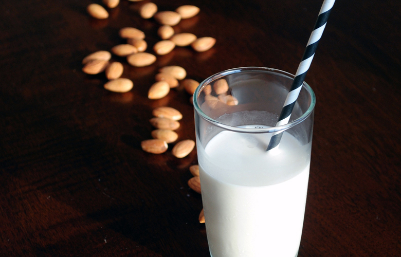 Almond-Milk-glass